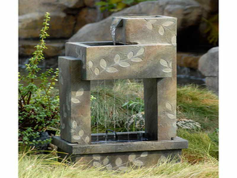 Nice Indoor Fountain Kits Garden ShedsStructures Pinterest - Indoor fountain kits