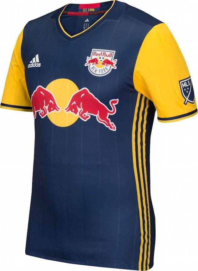 5c7bd6207e1f0 Adidas lança camisa reserva do New York Red Bulls para a MLS 2016 - Show de  Camisas