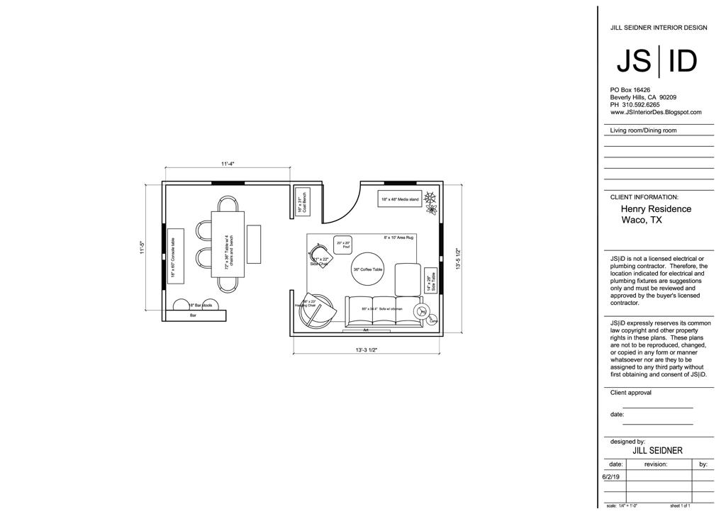 Project Spotlight Recent Online Design Project Jill Seidner Interior Design Living Room Furniture Layout Room Design Room Interior Design