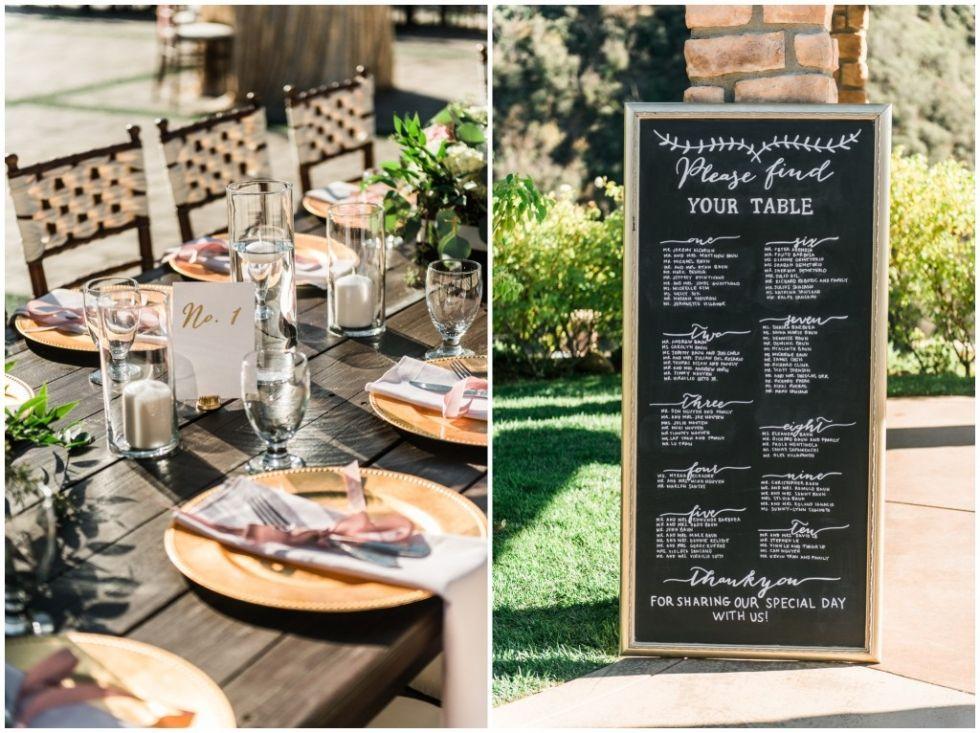 Blush and gold romantic wedding at Serendipity Garden Weddings ...