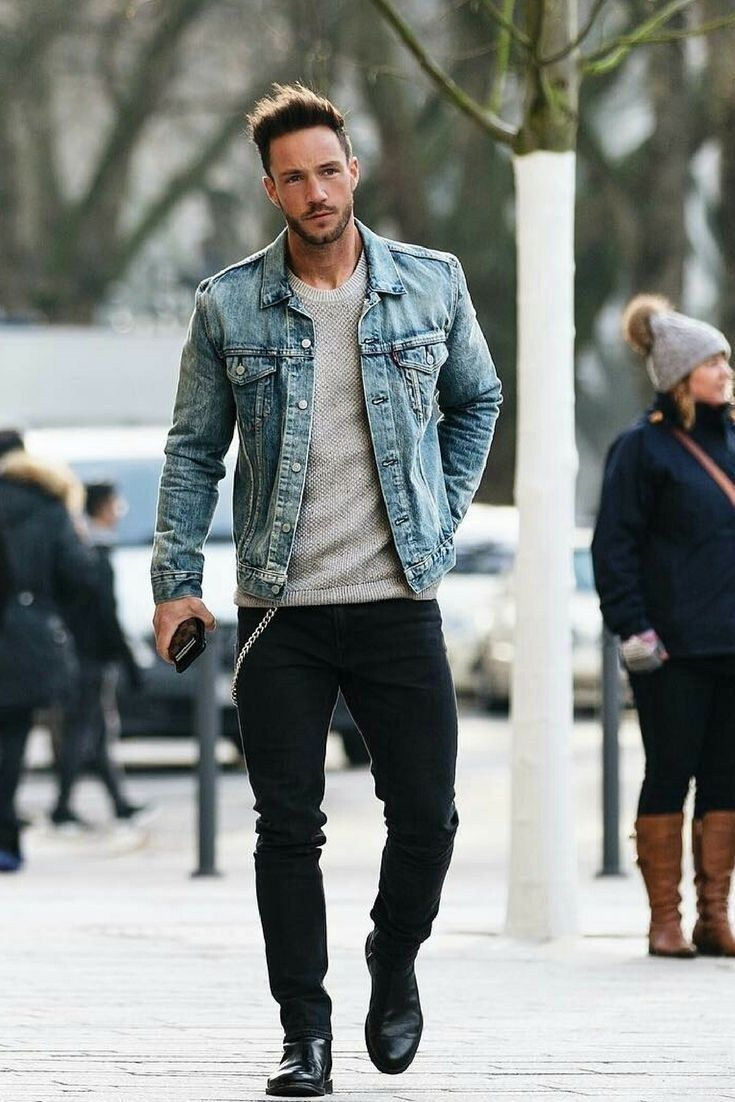 Coolest Casual Winter Street Style For Men 01 #menstreetstyles