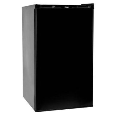 Amazon.com : Haier HNSE032BB 3.2 Cubic Feet Refrigerator/Freezer, Black : Compact Refrigerators : Appliances