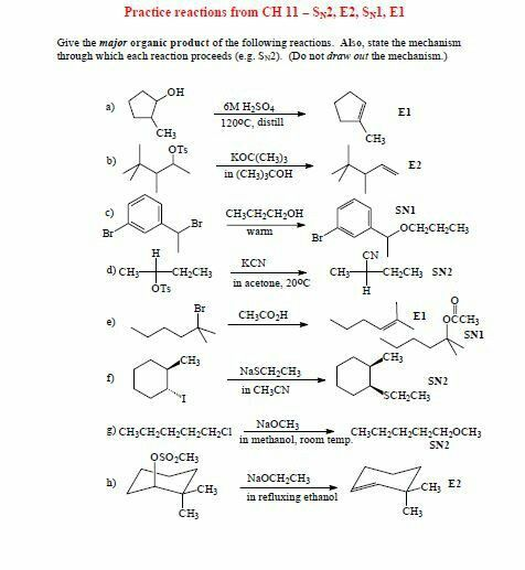 Practice Propose The Mechanism Organic Chemistry