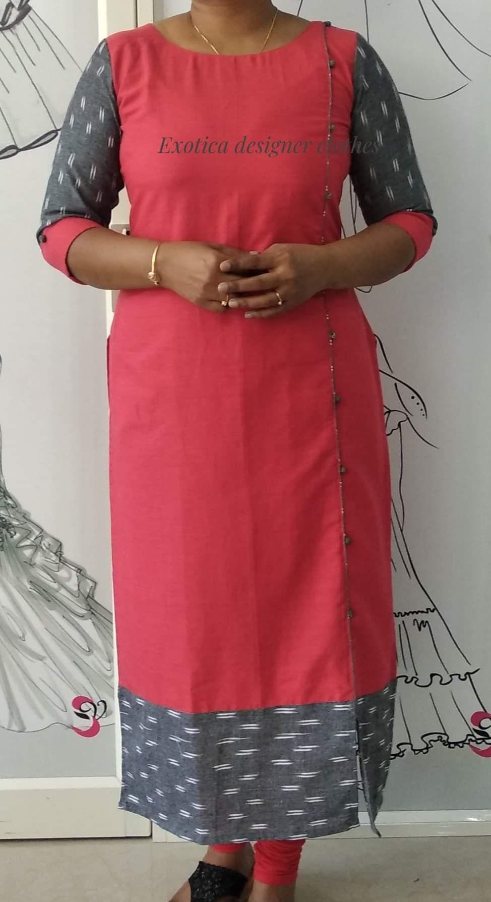 Pin By Anitha Prakash On Kurthi Simple Kurti Designs