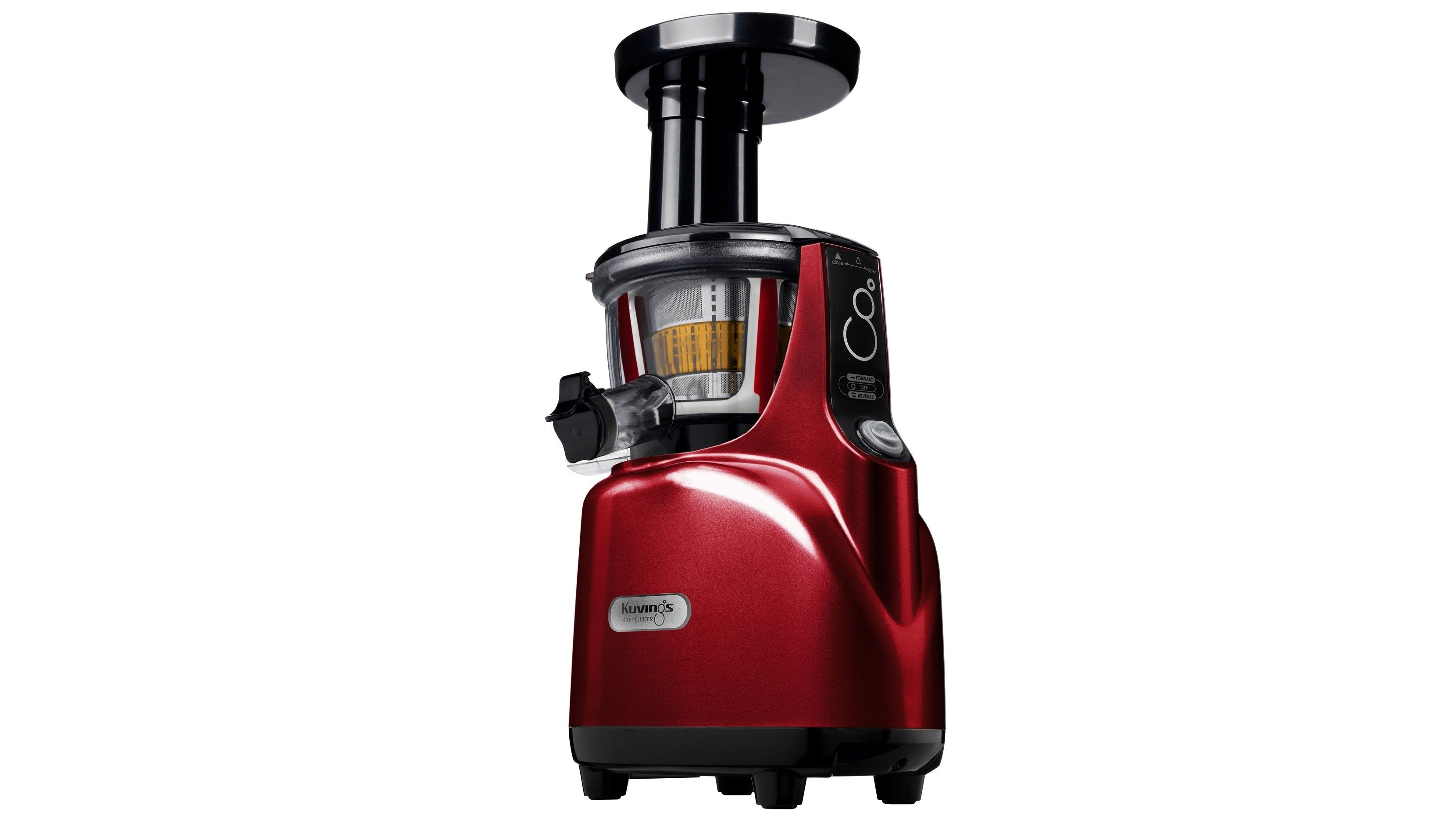 Kuvings Silent Cold Press Juicer - Burgundy Pearl