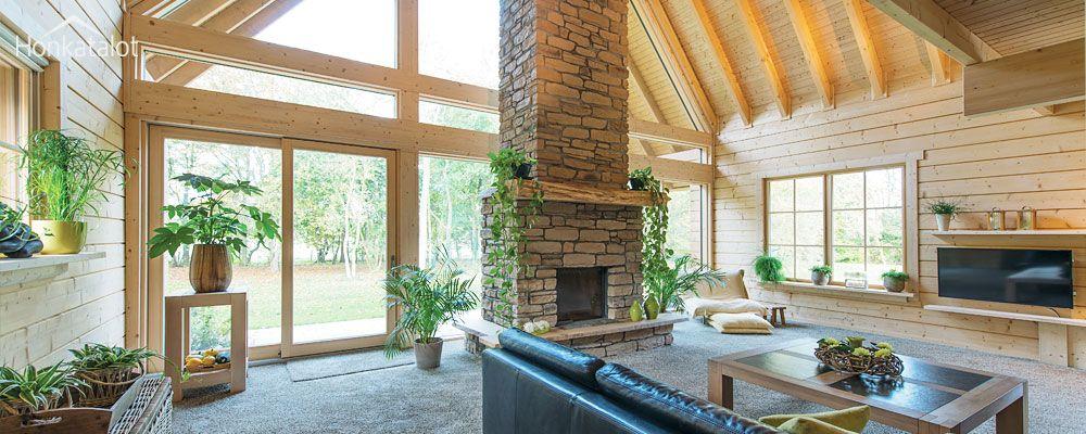 Traditional log homes - Honkatalot.fi