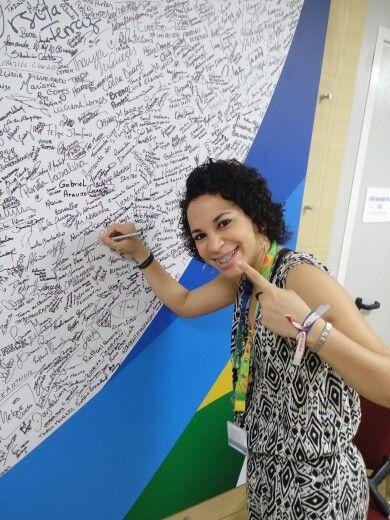 Comemoração de Falta 1 ano para os Jogos Olímpicos Rio2016
