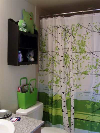12 Of The Most Unique Shower/Window Curtains | Green accents ...