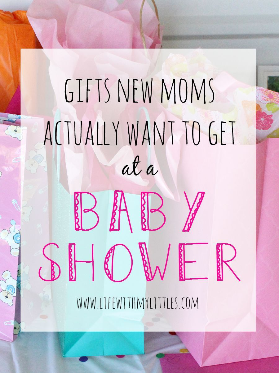 Gifts new moms actually want to get at a baby shower. Some great baby  shower gift ideas here! And they really are presents new moms will want  (and use!)