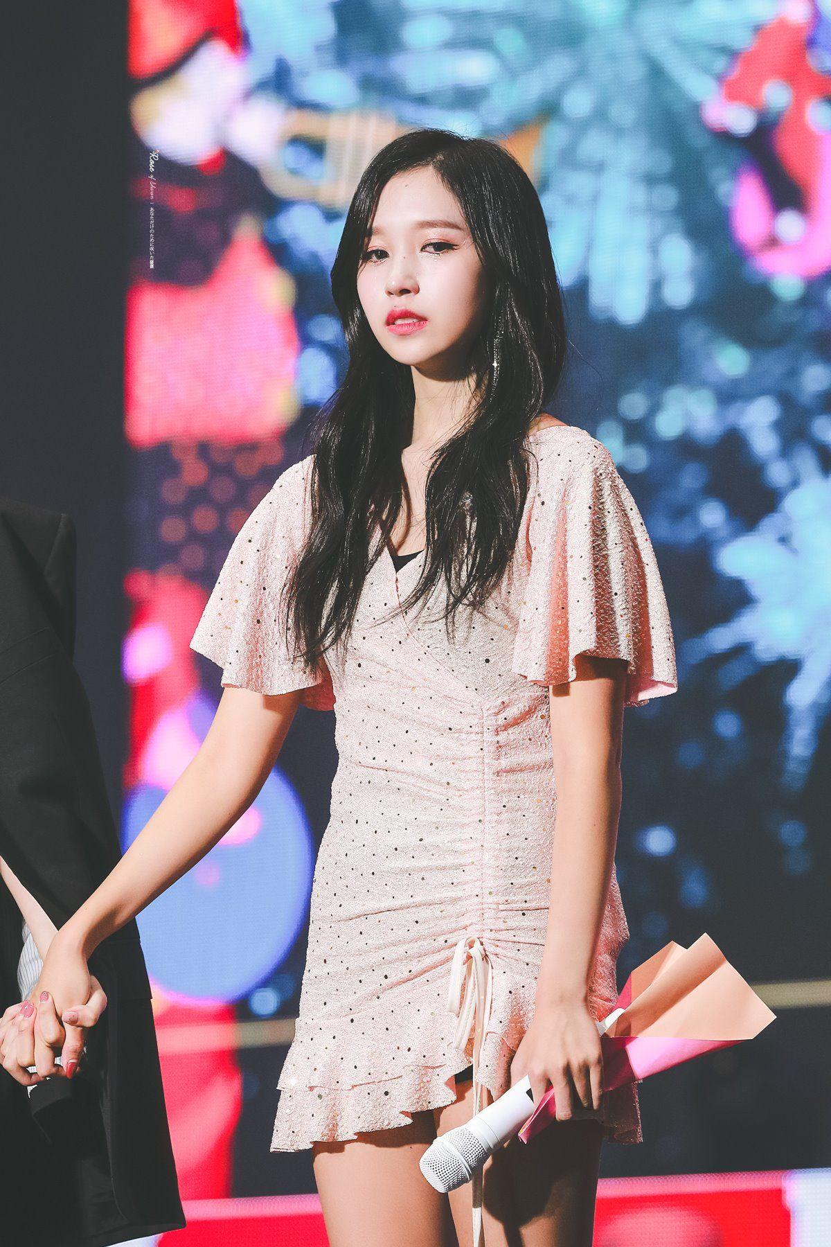 쟌미 on Twitter | Mina, Short sleeve dresses, Twice