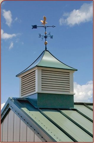 Sundance series franklin cupola sundance series for Country cupola
