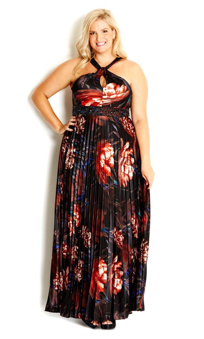 Left Nav Top Menu Left Nav Top Menu City Chic Maxi Dress Pleated Maxi Dress Unique Clothes For Women [ 1167 x 703 Pixel ]