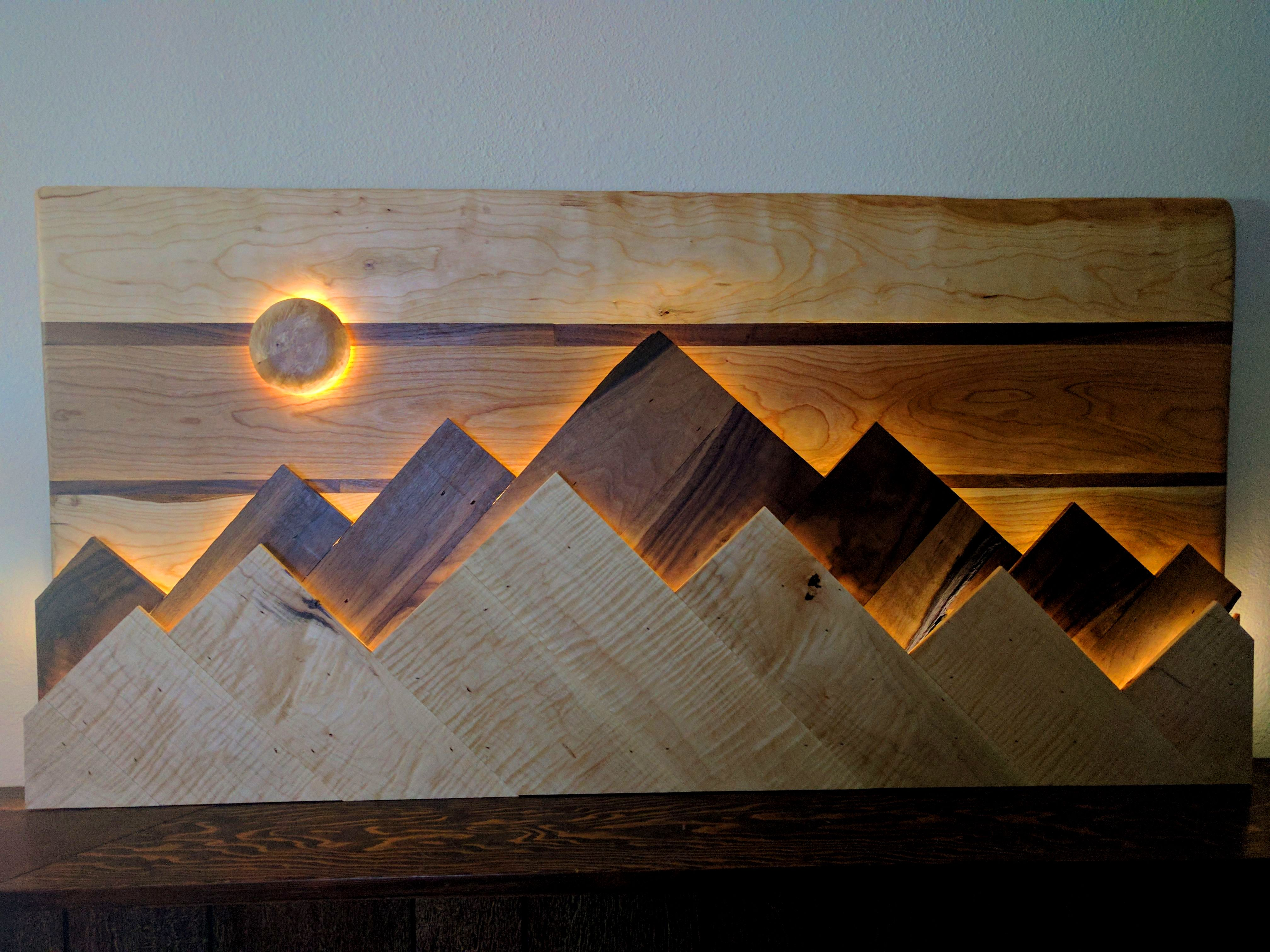 Backlit Wood Wall Google Search Wooden Wall Decor Diy Wall Art Wooden Wall Art