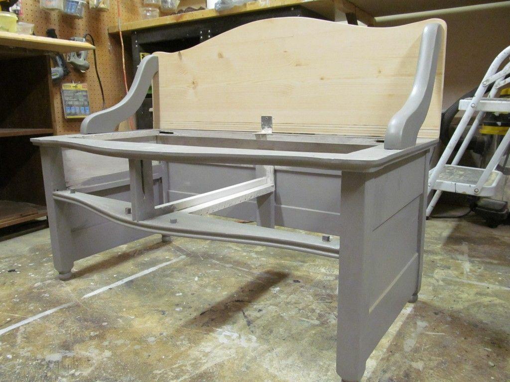 Repurposed antique dresser into benches reuse repurpose upcycle