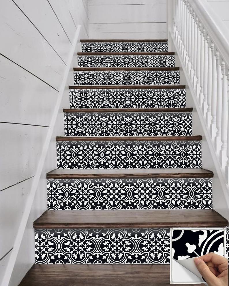 Image 0 Stair Riser Vinyl Stair Risers Stairs