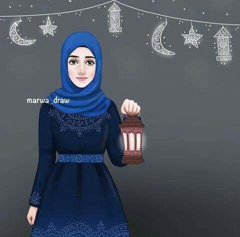 4e9060b793598 صور بنات محجبه و صور رسم بنات محجبة