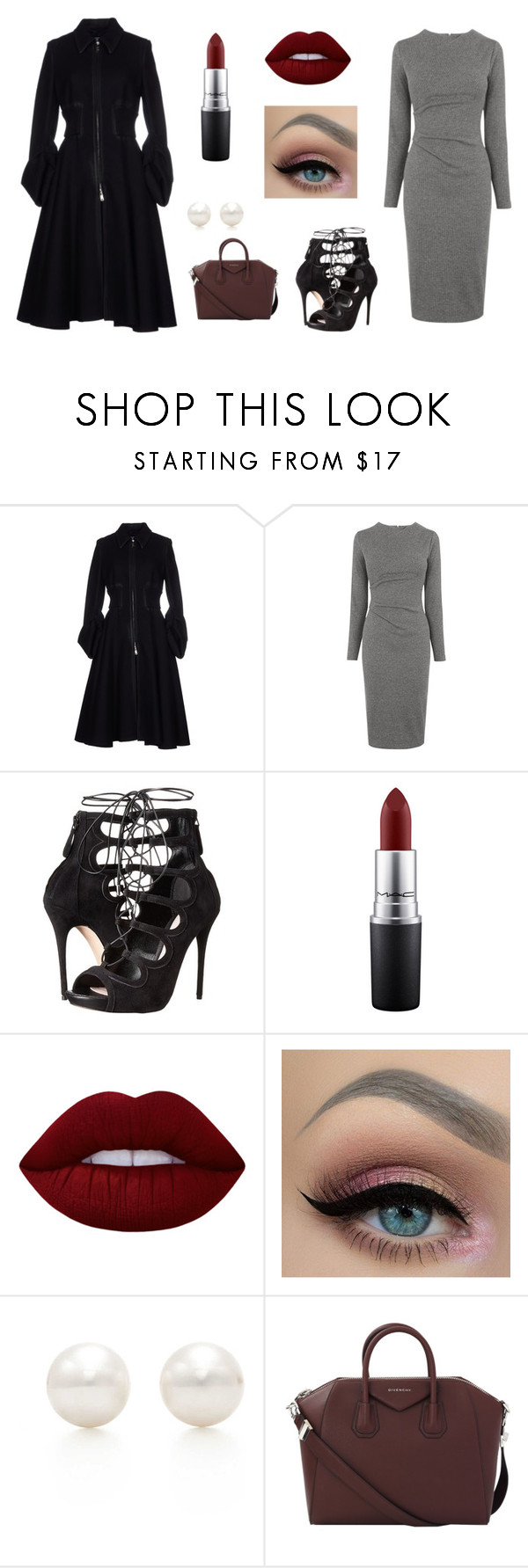 """Untitled #13"" by maddypassolano on Polyvore featuring Prada, Whistles, Alexander McQueen, MAC Cosmetics, Lime Crime, Tiffany & Co. and Givenchy"