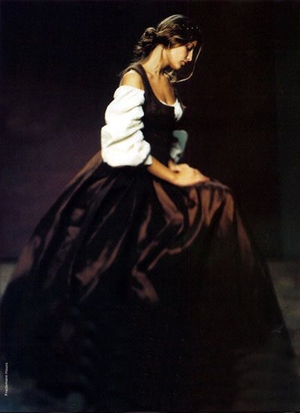 """The Interpretation: """"The Flemish in the Manner of Vermeer,"""" French Elle #baroque"""