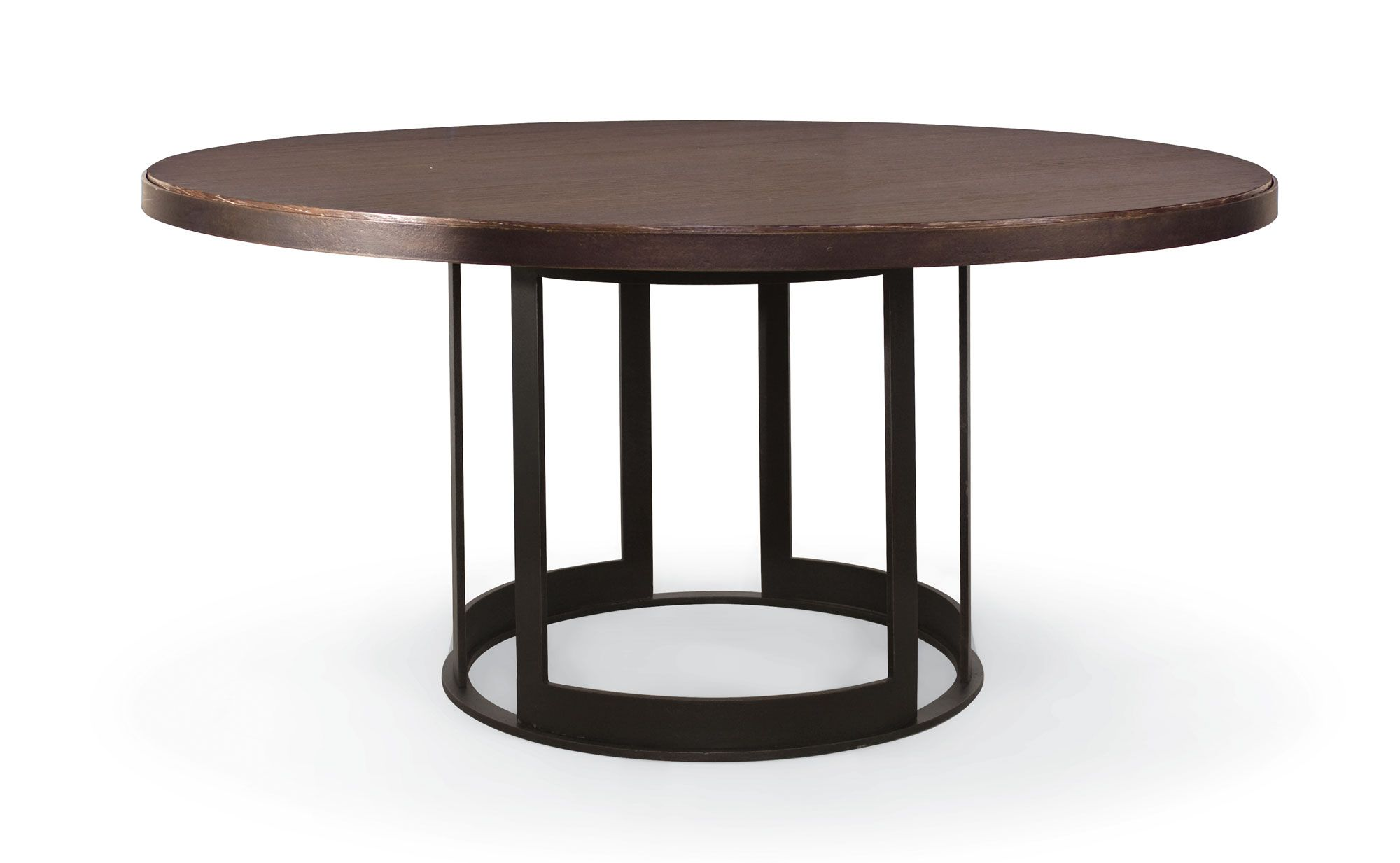 Bernhardt Elements Round Dining Table 64 Inch 335 778