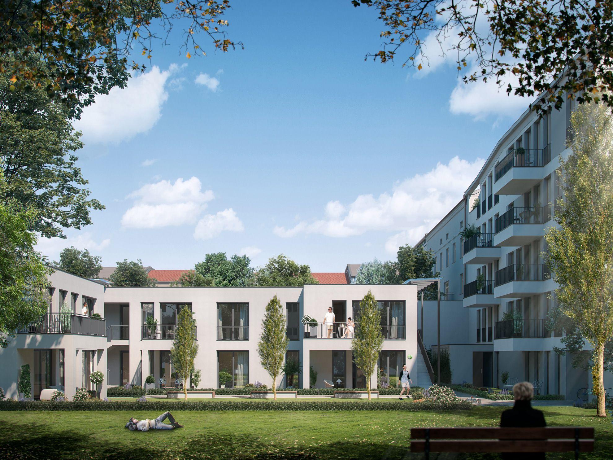 Architekturvisualisierung Berlin renderatelier architekturvisualisierung mehrfamilienhaus