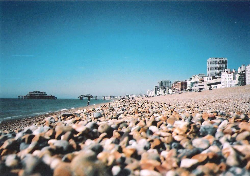 Brighton England In Winter Beach Australia