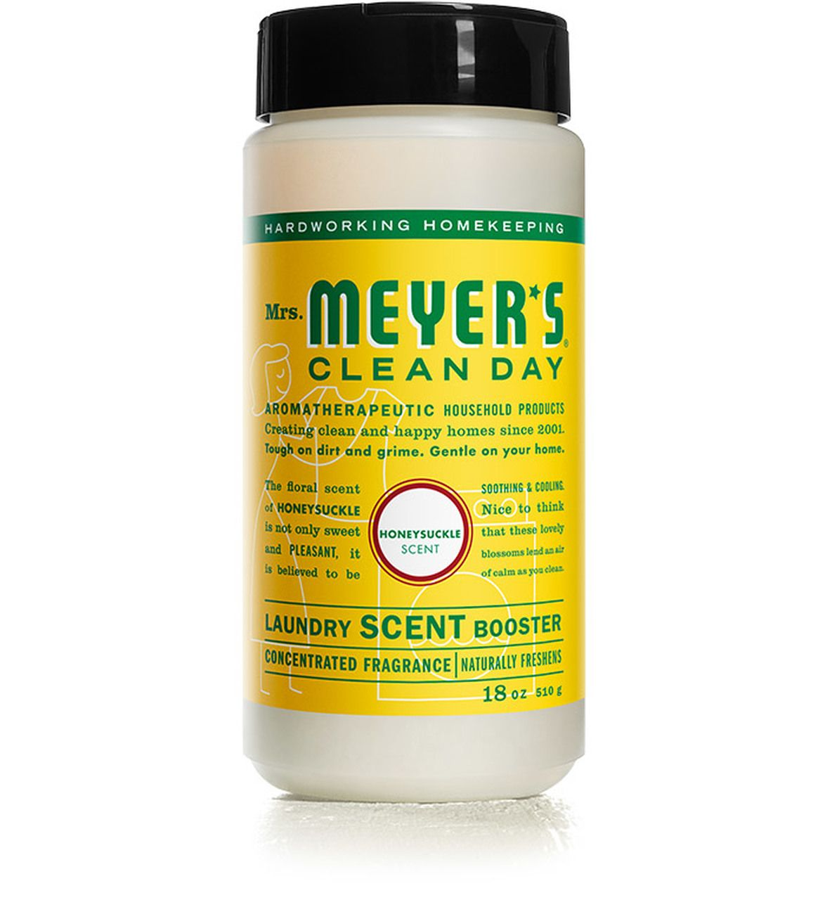 Mrs Meyer S Honeysuckle Laundry Scent Booster Verbena