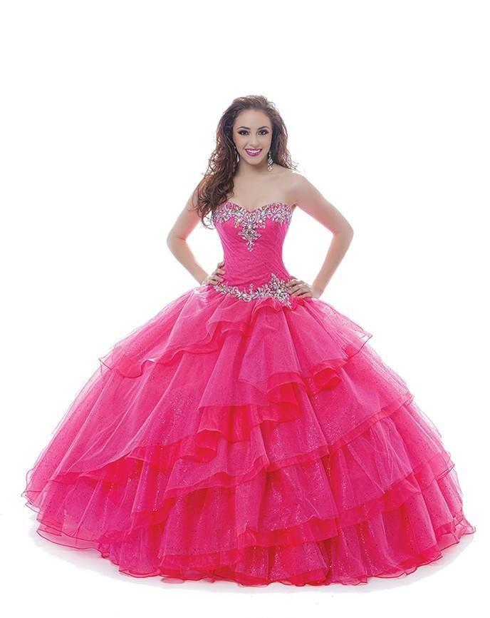 vestidos de 15 anos Sweetheart Beaded Pleated Full Length ...