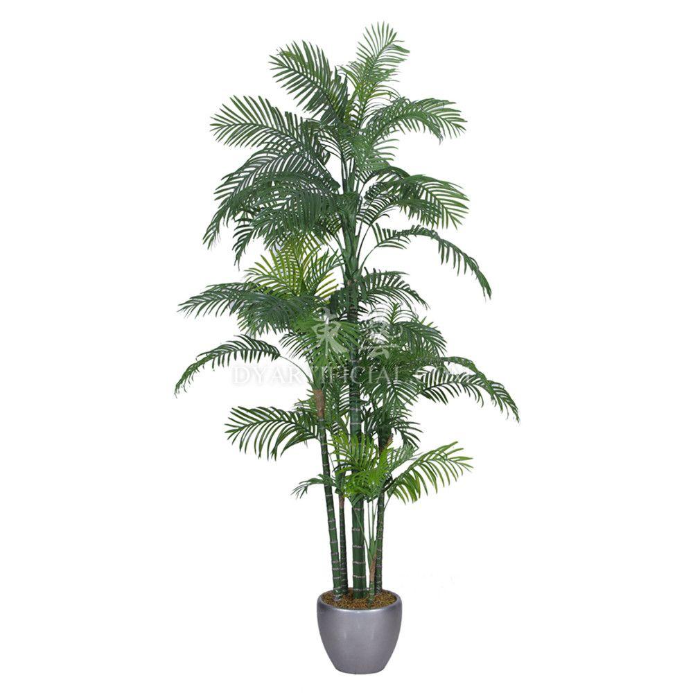 Tcb 11 180cm Artificial Hawaii Kwai Palm Small Palm Trees Palm Trees Plant Leaves