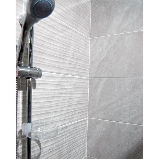 Ditto Light Grey Wave Ceramic Wall Tile By Bct Ceramic Planet Ceramic Wall Tiles Tile Bathroom Wall Tiles