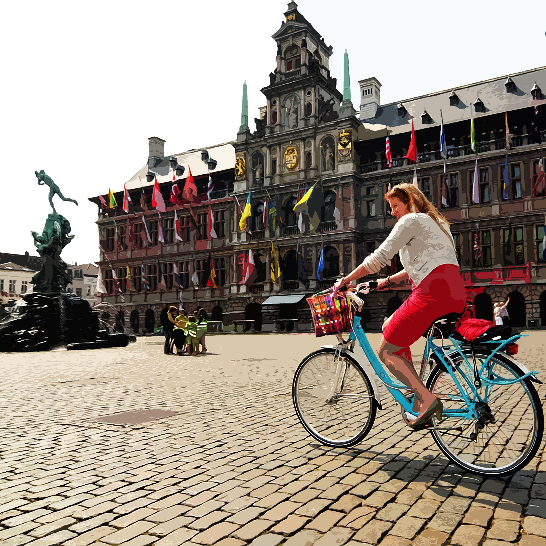 """#ANVERS #Antwerpen #GroteMarkt  Anvers est beaucoup de choses. La deuxième plus grande ville de Belgique, ville d'art sophistiquée avec résidences de """"Art nouveau"""", maisons style néo Renaissance, rués et châteaux médiévaux...  #YOURCityYOURCapital #Belgium"""