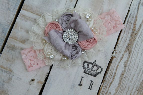 Sterling Rose Headband by London Raquel by londonraquel on Etsy, $28.99