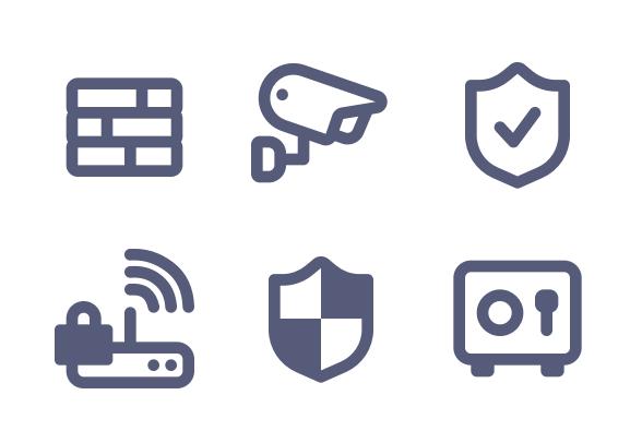 Guard Protected Security Shield Icon Shield Icon Icon Trust Logo