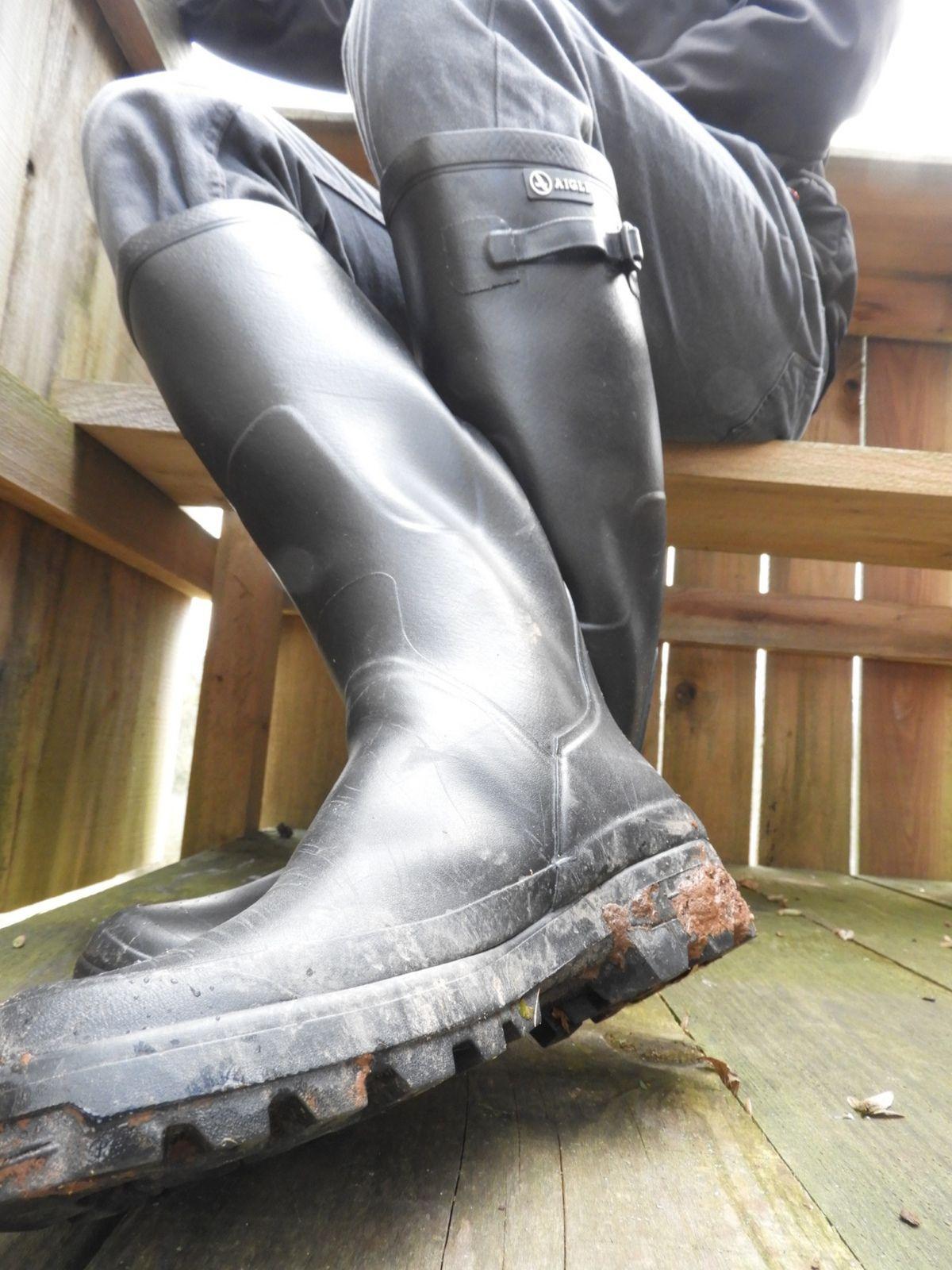 Retirarse inteligencia globo  https://flic.kr/p/2d2HQNi | Aigle Benyl | Hunter boots, Boots men, Rain  boots