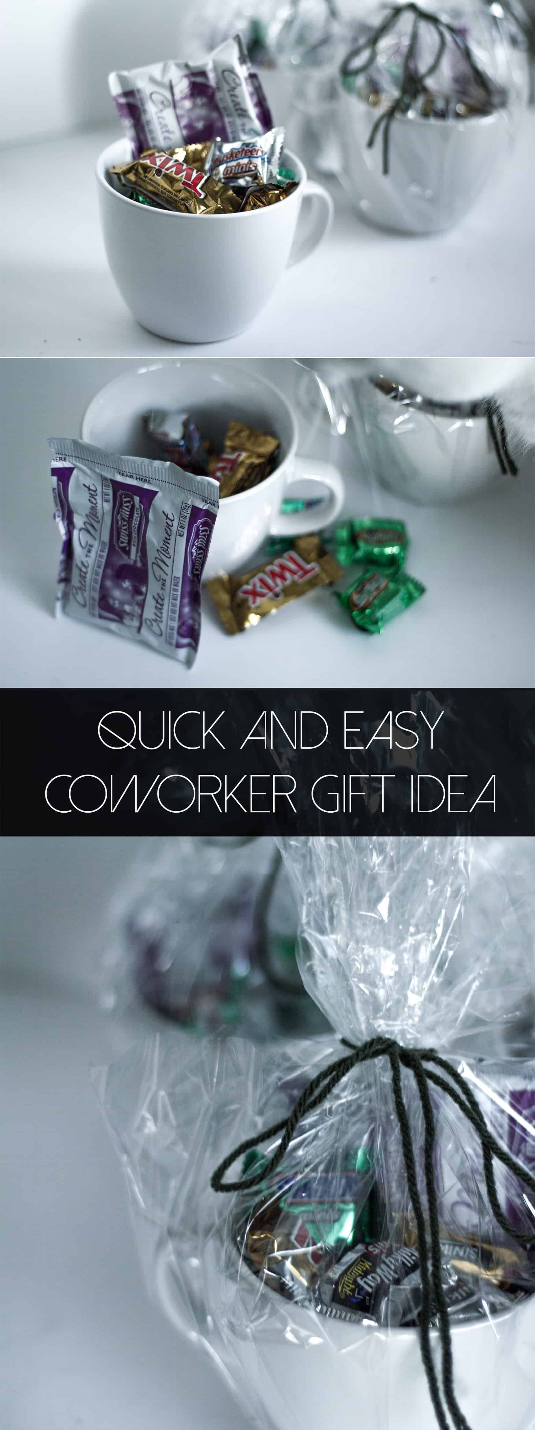 Quick Coworker Gift Idea (for Less than $4) - Practical and Pretty