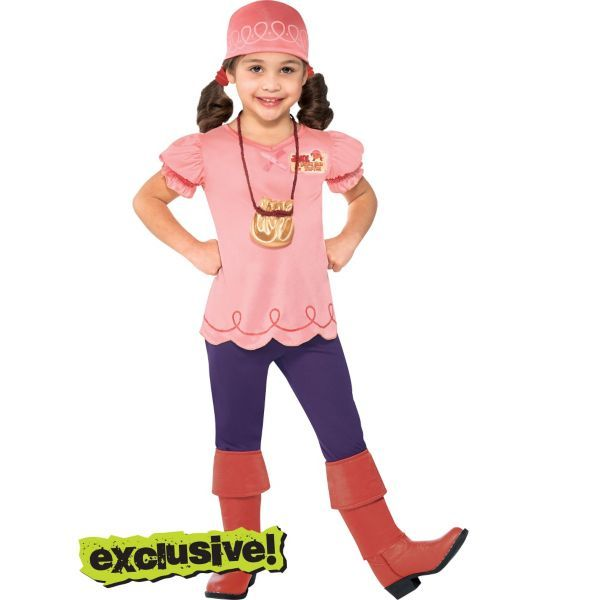 Toddler Girls Izzy Costume - Jake and the Never Land Pirates - halloween ideas girls
