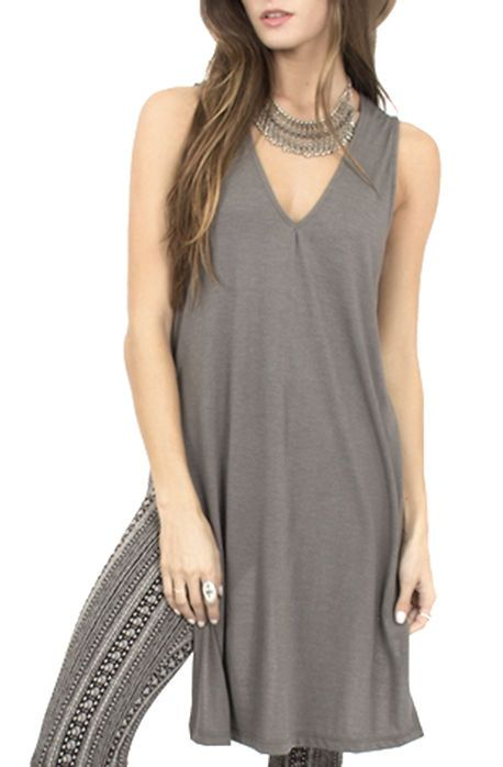 The Lose Control Tunic in Olive