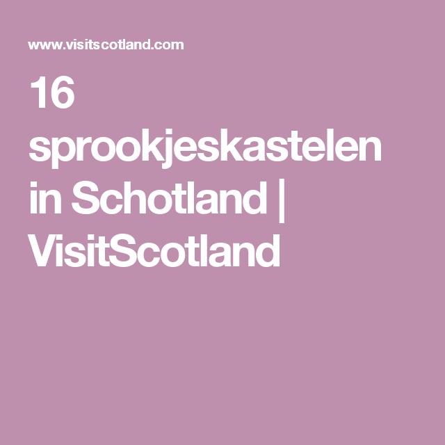16 sprookjeskastelen in Schotland | VisitScotland