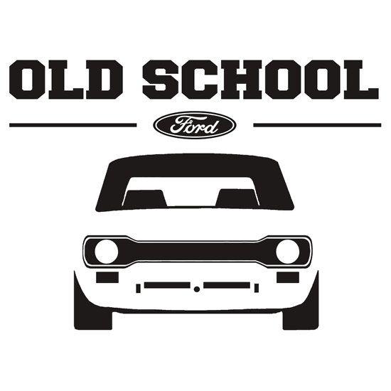 Ford Escort Mk1 Men S Retro Car T Shirt Ford Escort Pinterest
