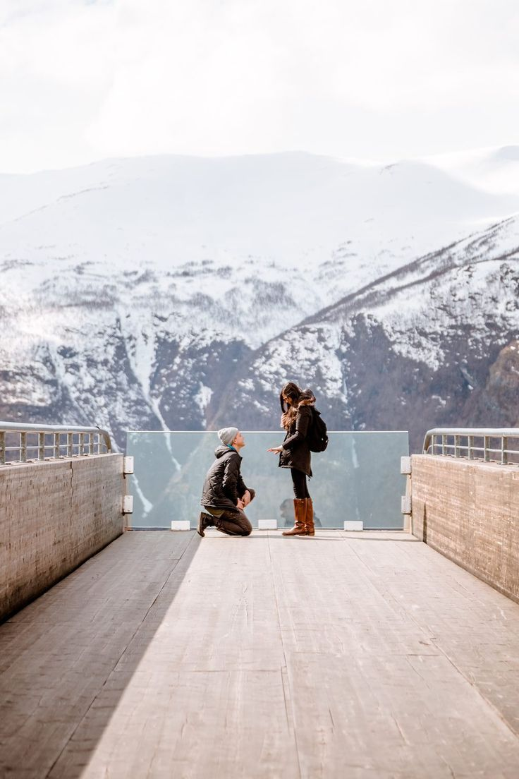 This Surprise Proposal In Norway Is So Stunning Were Obsessed