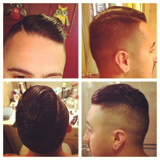 Keeping @_scooch_ looking like a #gentleman with a #hardpart #propehaircut
