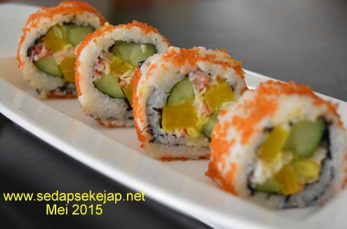 Resep Tobiko Sushi Roll Masakan
