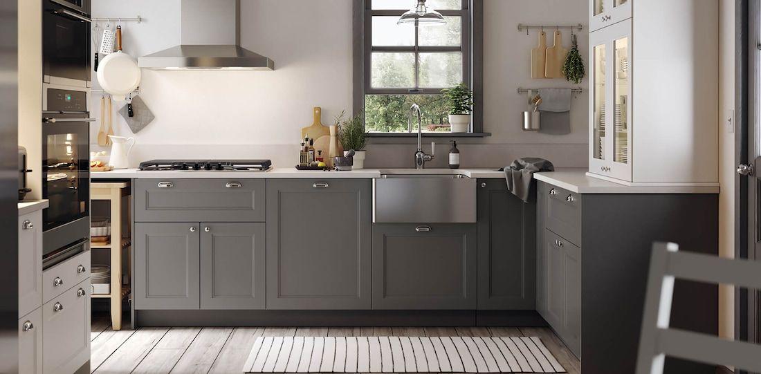 Modern Gray Kitchen Cabinets Axstad Kitchen Series Modern Grey Kitchen Kitchen Cabinet Design Kitchen Cabinet Styles