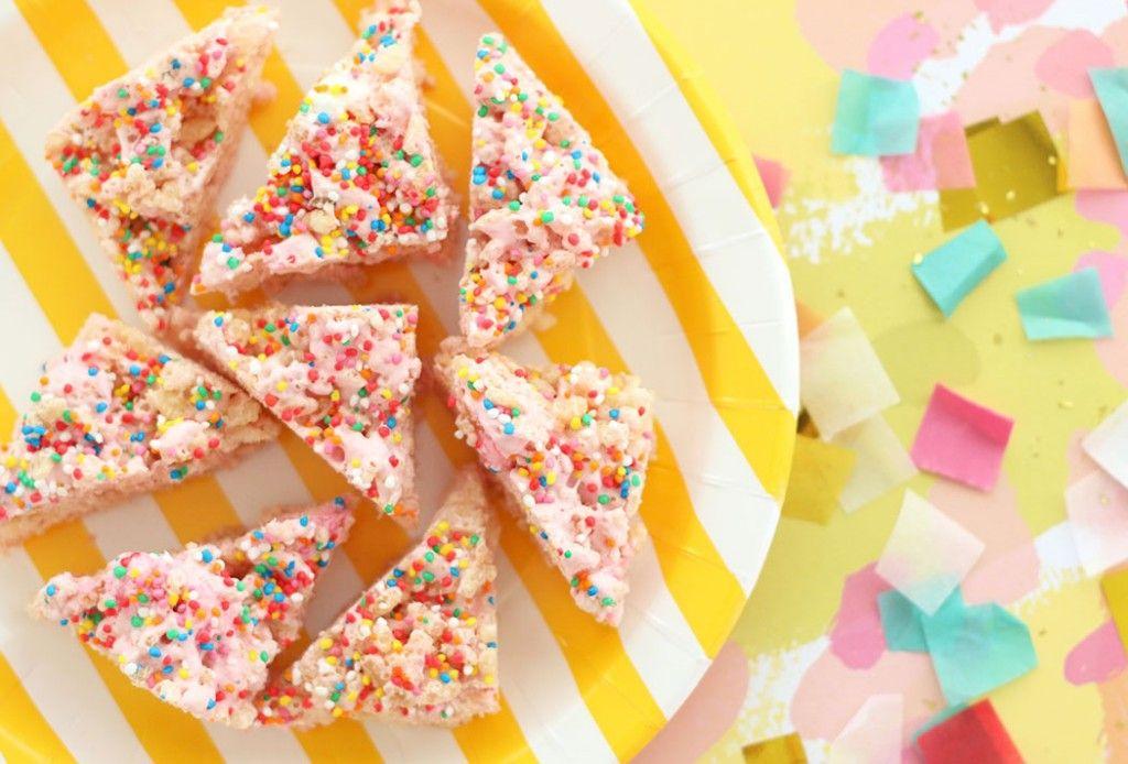 Fairy Bread Puffed Rice Party Treats ? Allergy Friendly