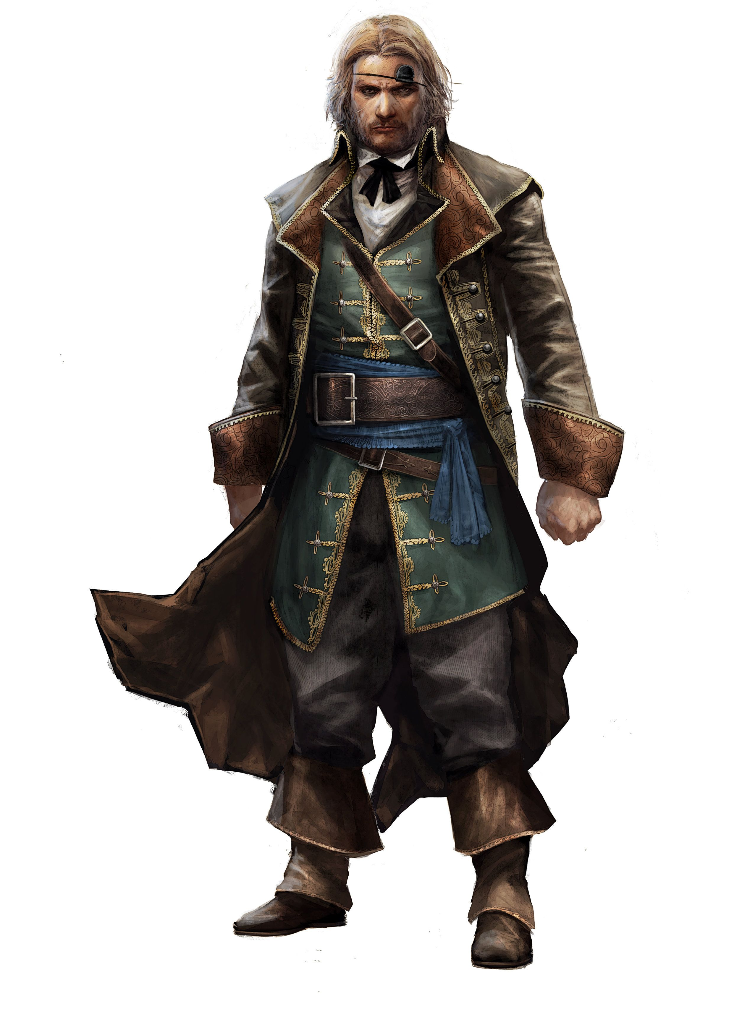Assassin S Creed Black Flag Character Concept Google Search