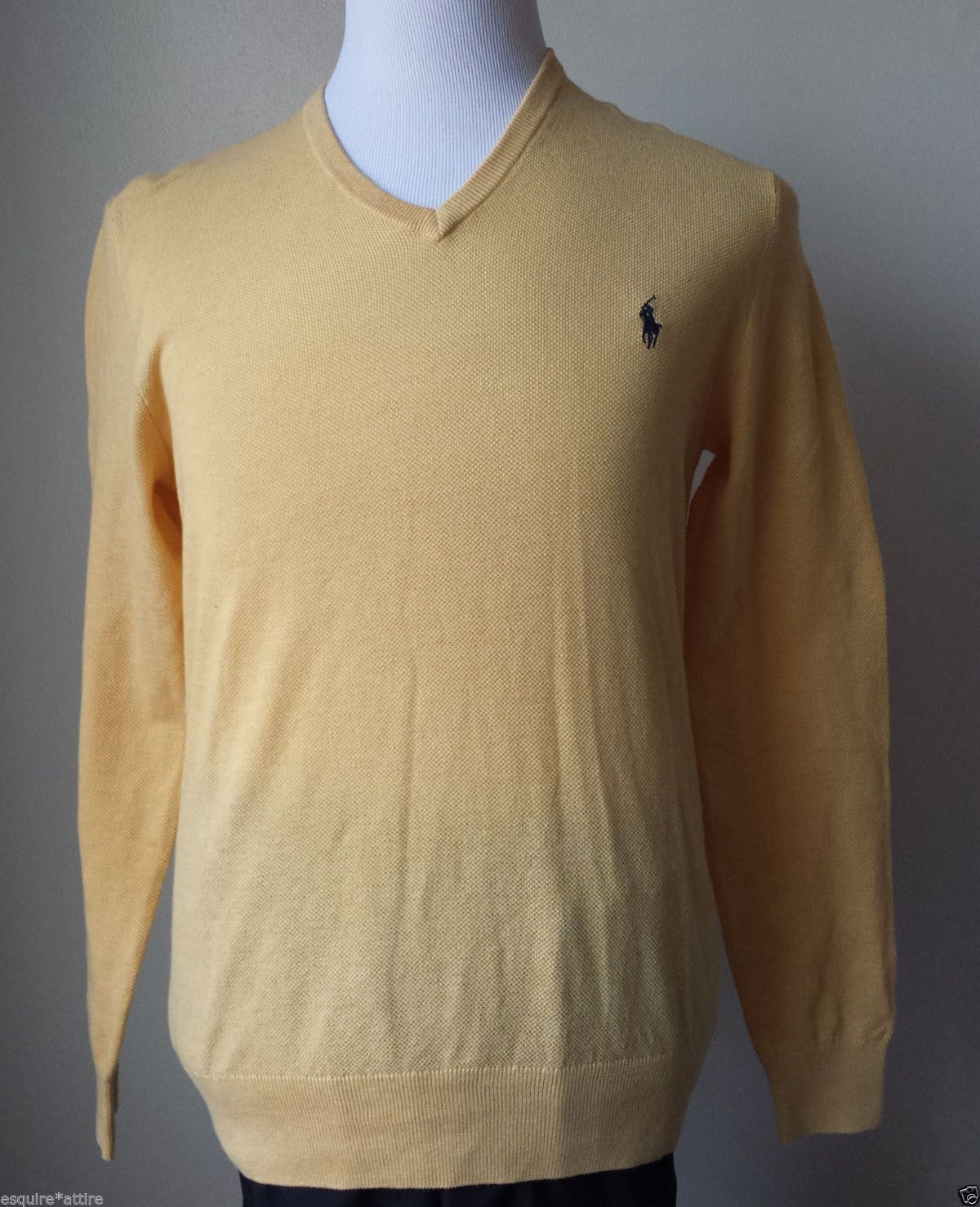 sweater POLO Ralph Lauren men v-neck Size M cashmere blend sweater ...