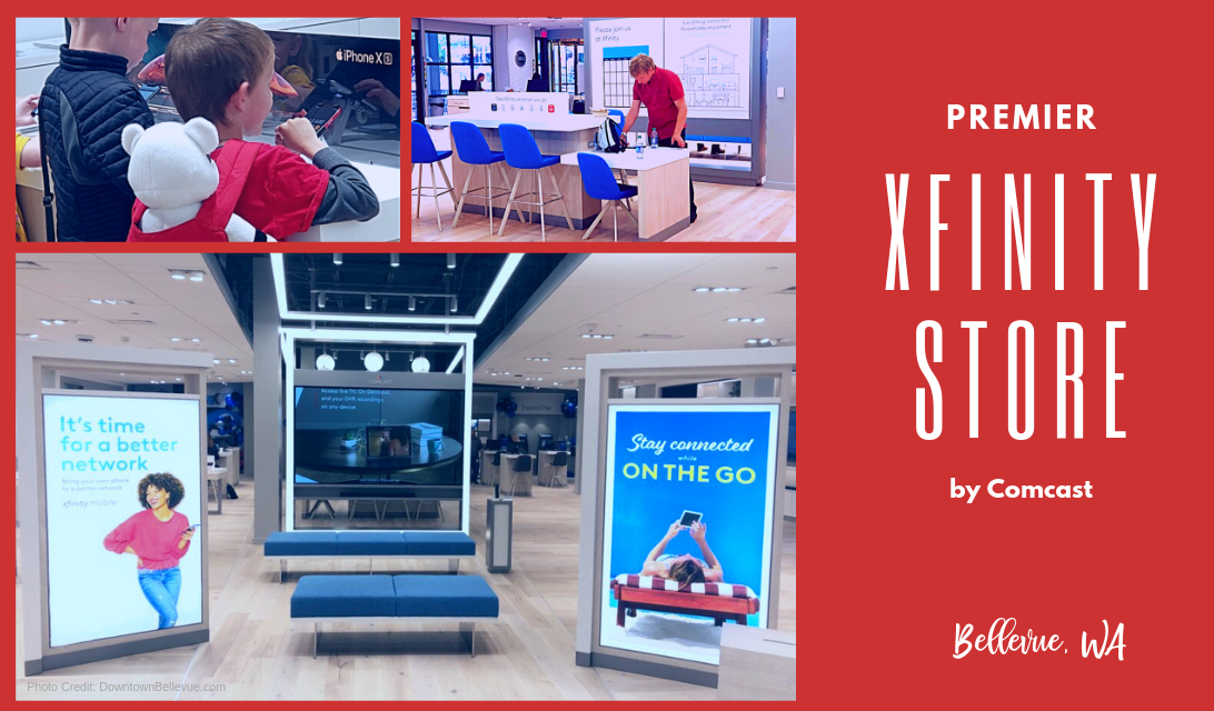 Explore the Xfinity Store by Comcast at Bellevue Square