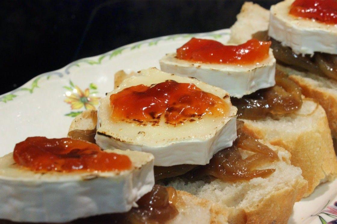 recetas pinchos queso cabra