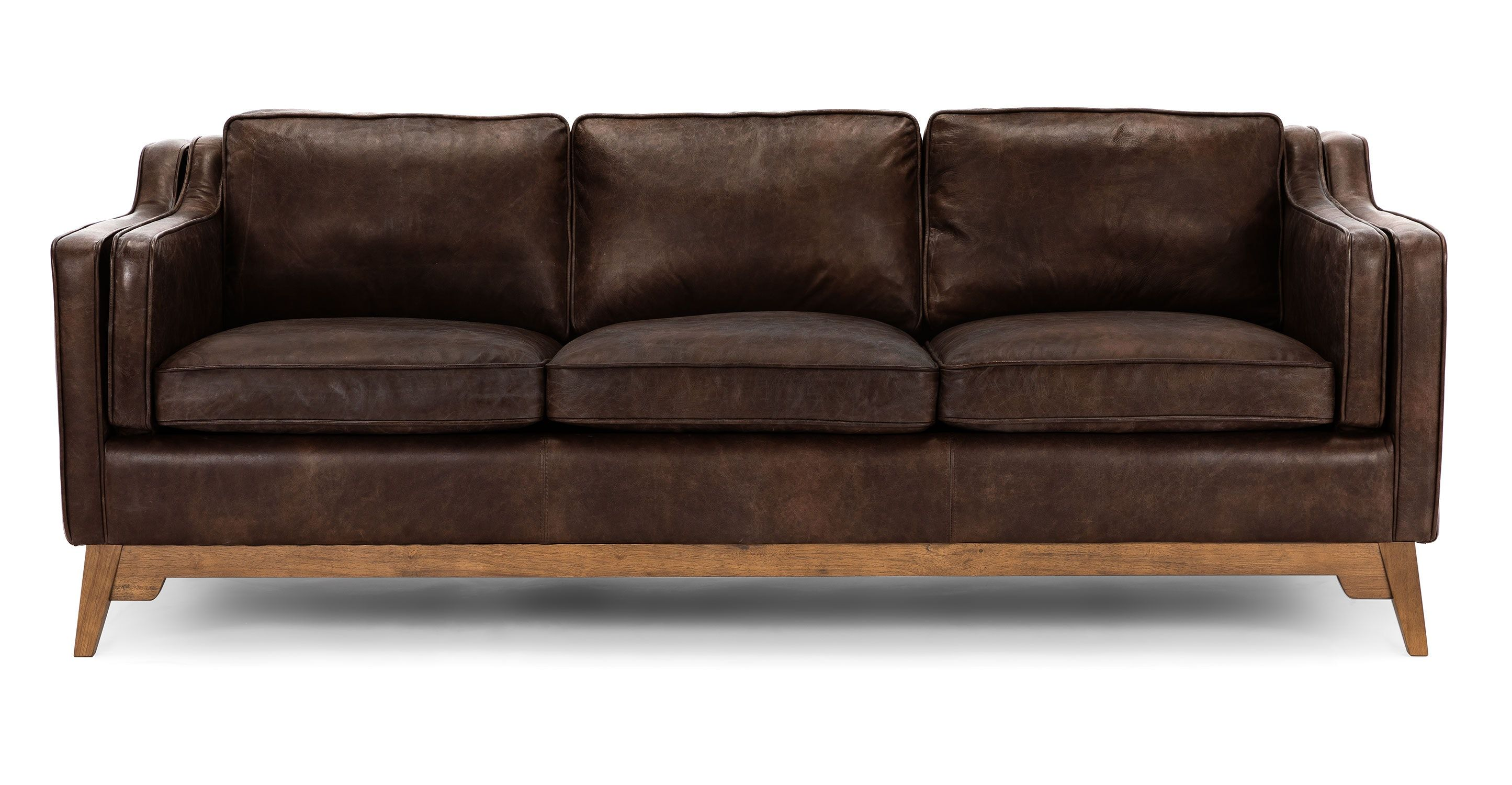 Worthington Oxford Brown Sofa Black Sofa Brown Living Room Decor Black Leather Sofas