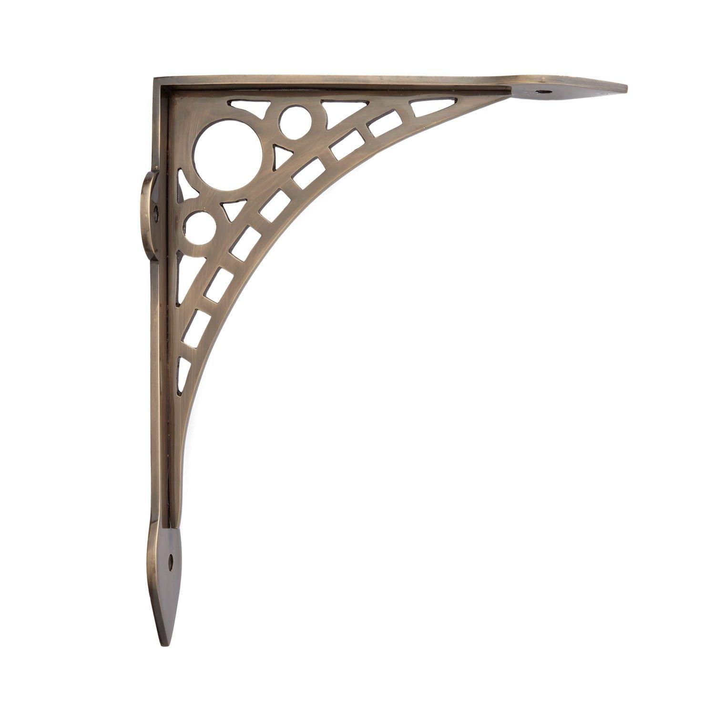 Quick Guide To The Right Shelf Brackets Yonohomedesign Com In 2020 Brass Shelf Brackets Decorative Shelf Brackets Decorative Metal Shelf Brackets