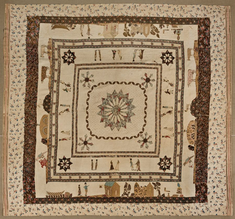 Everything A Feminist Needs To Know About Quilting | Antique ... : pictorial quilt tutorial - Adamdwight.com